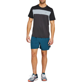 "asics Road 2-N-1 7"" Shorts Men magnetic blue"